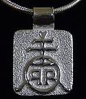 Roycroft Renaissance Orb Mark Silver Jewelry Necklace