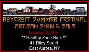 Roycroft Summer Festival Healthy Zone Rink Directions