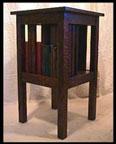 Arts & Crafts Lamp Table Mission Oak Bookcase