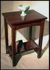 Arts & Crafts Keyed Tenon Table Mission Oak Stand