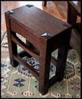 Arts & Crafts Tabouret Table Mission Oak Stand