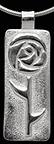 Glasgow Mackintosh Thorned Round Rose Necklace