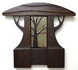 Framed Oak Tree & Crescent Moon Tile Click To Enlarge