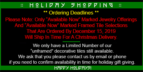 Mission Guild Holiday Shipping Deadline