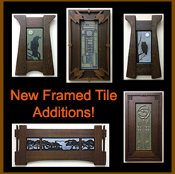 Click Here For Our Available Now Framed Tiles