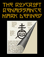 Roycroft Renaissance Mark Definitions