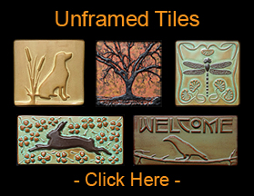 Click Here For Our Decorative Single Tiles - Unframed Arts & Crafts Tiles