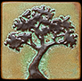 Arts & Crafts Tree Tiles & Landscape Tiles
