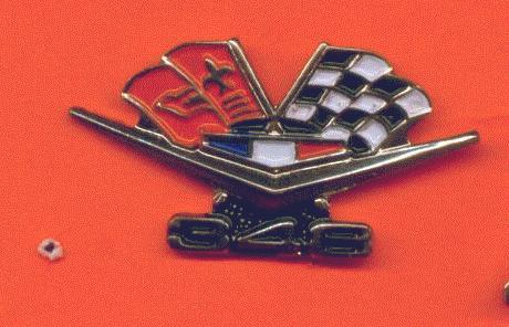 350 Chevrolet V8   Logo Metal Lapel Pin,..,Badge
