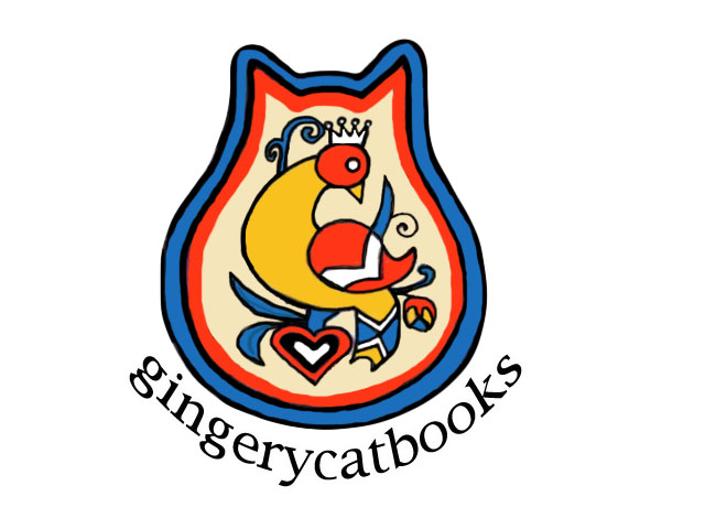 Gingery Cat Books Logo