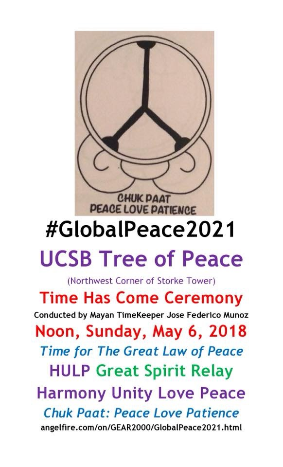 Academic Calendar Ucsb.Globalpeace2021 Ucsb Tree Of Peace Ceremony