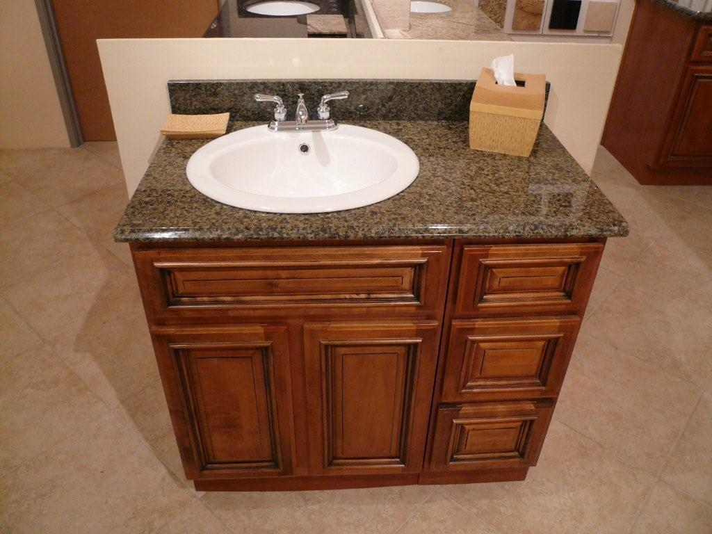 Pinterest the world s catalog of ideas - Bathroom vanity tops with offset sink design ...