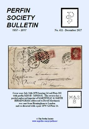 Perfin Society Bulletin
