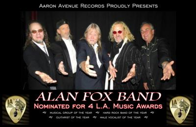 Never Learn by Alan Fox Band on Spotify