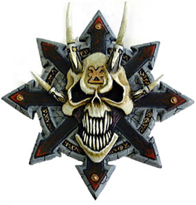 Chaos Symbol With Skull | www.pixshark.com - Images ...