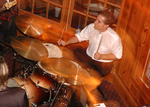 David Kelly on Drums