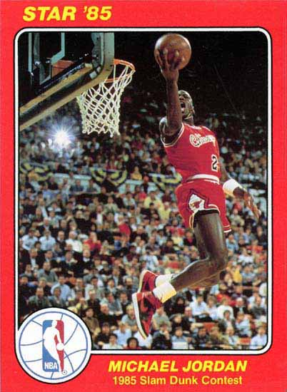 1985 Star Slam Dunk Supers #5