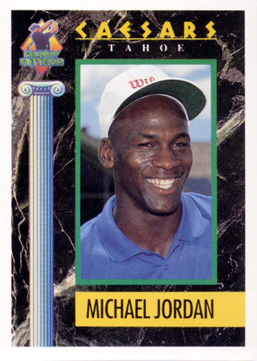 1991 Celebrity Golf Association Caesars Tahoe Heavy Hitters #1