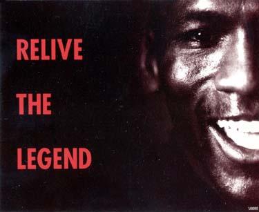 1999 Michael Jordan's Restaurant ad card NNO