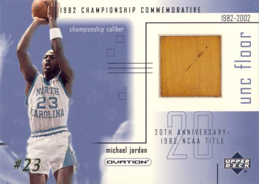 2001-02 Upper Deck Ovation MJ UNC Floor #MJF4