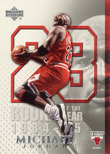2005-06 Upper Deck Michael Jordan #MJ15