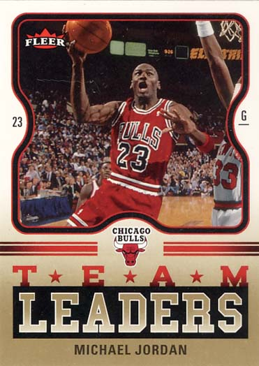 2006-07 Fleer Fat Glossy Gold Team Leaders #TL-MJ