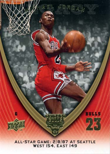2008-09 Upper Deck Michael Jordan Legacy Collection #1112