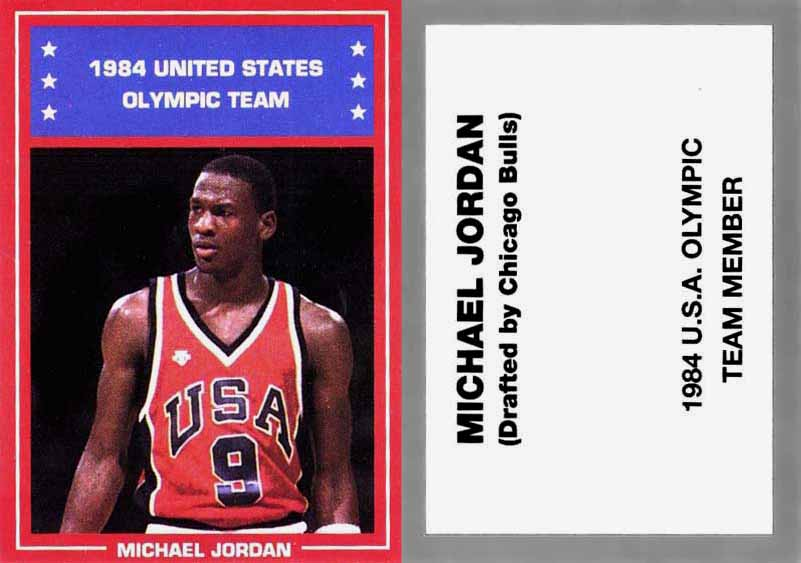 de4dd7dcb18 1984 United States Olympic Commitee Games of the XXIII Olympiad 1984 U.S.  Delegation card NNO