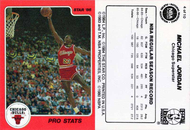 1986 Avalon Hill Game Company Statis-Pro basketball game card NNO · 1986  Star Best of the Best  9 · 1986 Star Best of the New Old NNO 36227dc3b