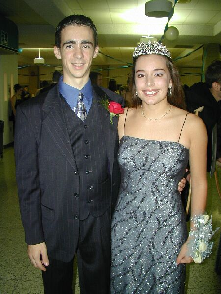 Me and Homecoming Queen Natalie 2000