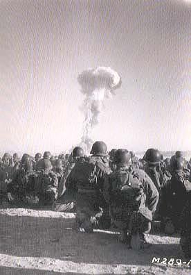 mojave desert atom bomb