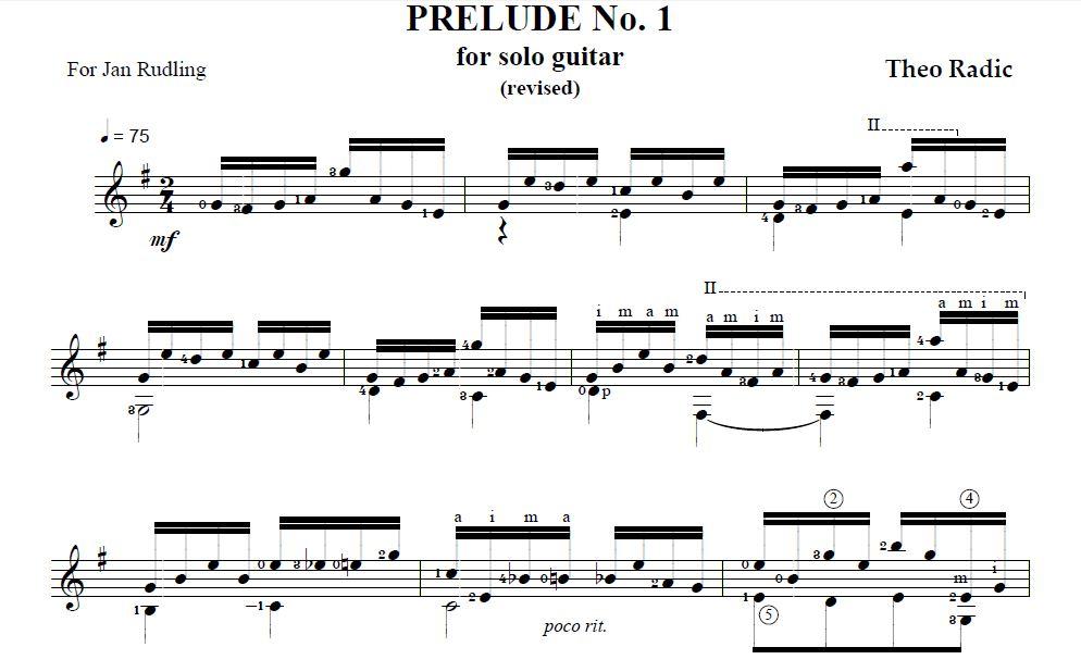 Guitar bach cello suite 1 guitar sheet music : prelude1_sample.JPG