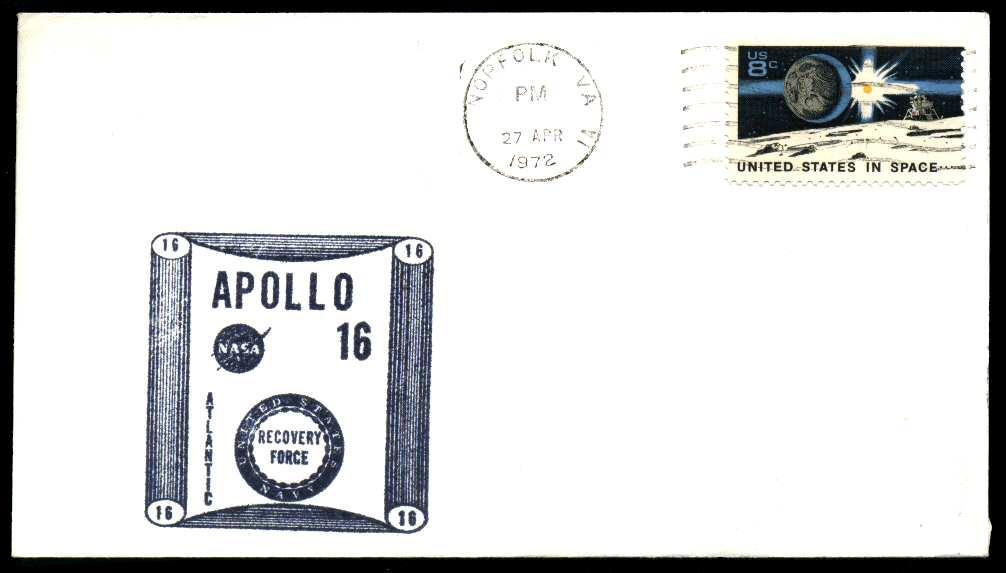 Apollo 16 Cachets