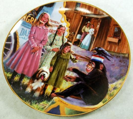 Little House Collector Plates Plate1Circus