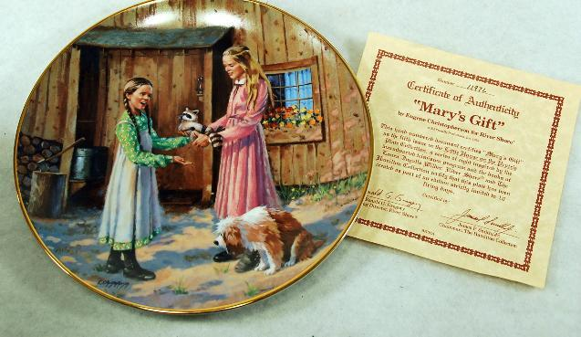 Little House Collector Plates Plate3