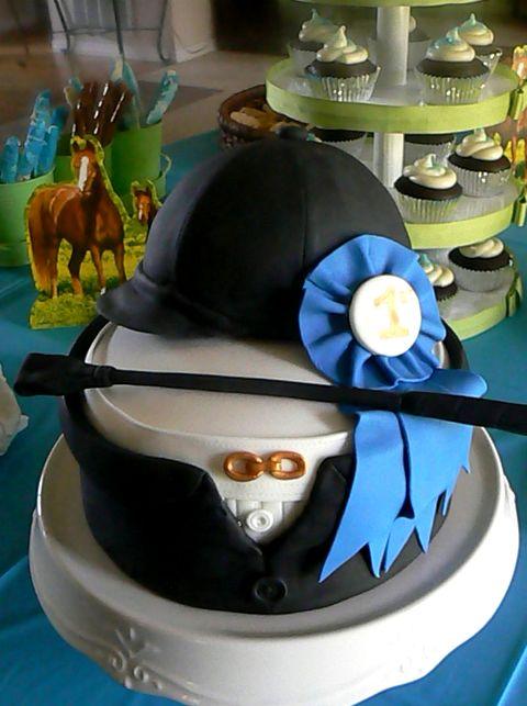 Happy Birthday, Ruth! Riding_cake