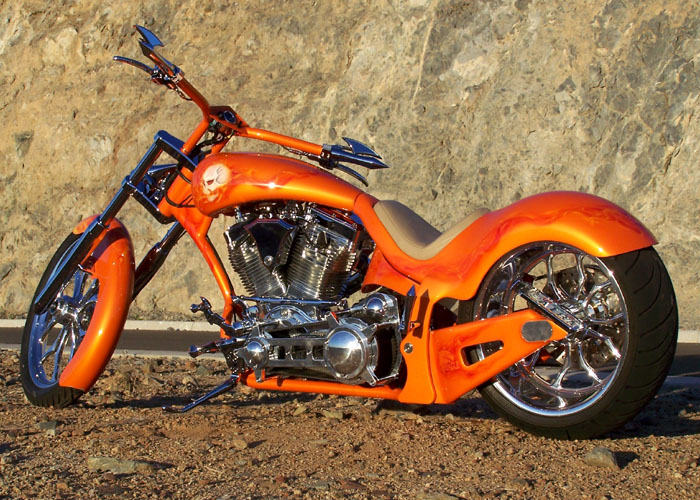 glenn built this bike himself with a war eagle frame this is one awesome looking ride and really turns heads casey did the body work paint and clear - Motorcycle Frame Paint