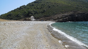 Alonissos Tsoukalia beach