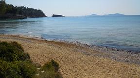Alonissos Chrisi Mila beach