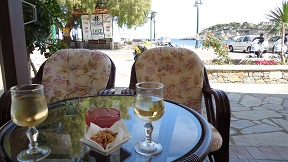 Alonissos restaurants, Corali in Patitiri