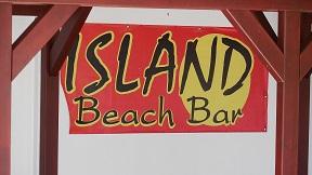 Alonissos restaurants, Island Beach Bar in Leftos Gialos beach