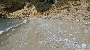 Tsoukalia beach on the island of Alonissos in Greece