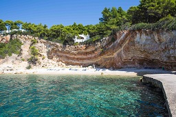 Marpounta beach on the island of Alonissos in Greece
