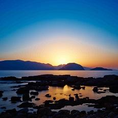 Marpounta beach on the island of Alonissos in Greece