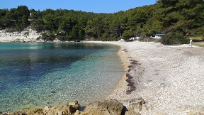 Milia beach on the island of Alonissos in Greece