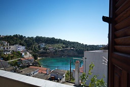 Pefka Apartments, Votsi beach on the island of Alonissos in Greece