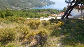 Kokkinokastri beach on the island of Alonissos in Greece