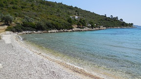 Tzortzi Gialos beach on the island of Alonissos in Greece