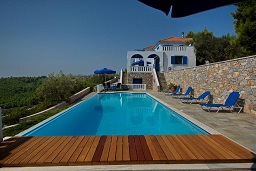 Aegean Blue Villa Patitírion Alonissos in Greece