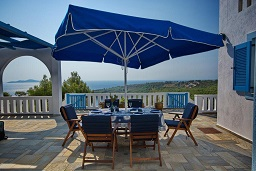 Aegean Blue Villa Patitírion Alonissos in Greece